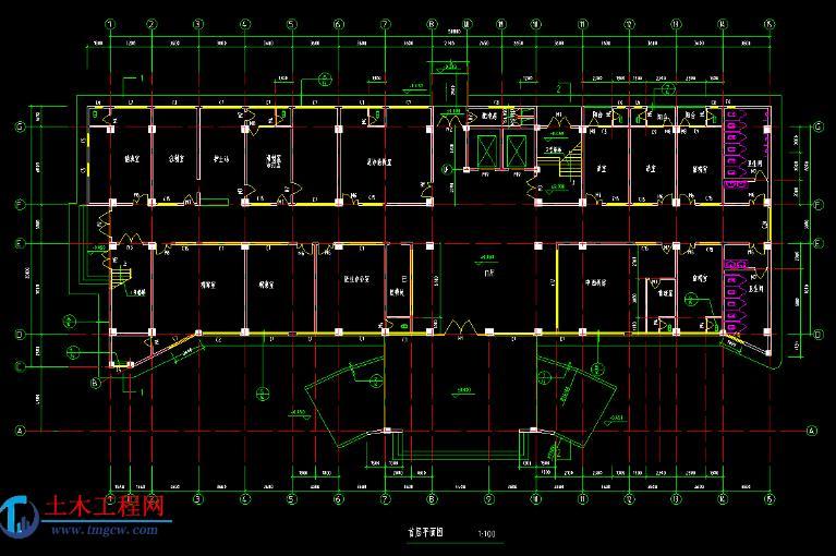 5层6207平米南充市某门诊楼全套毕业设计