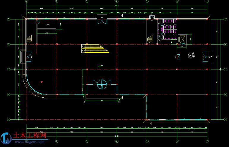 3层3920平米长沙市某商场框架结构毕业设计