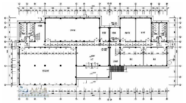 3层3360平米湖南框架党校综合办公楼毕业设计含施工组织设计