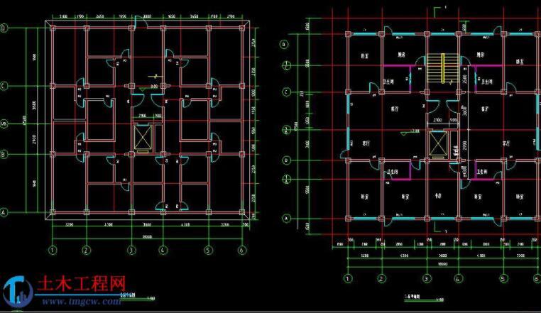 10层3400平米烟台市框架结构住宅楼毕业设计