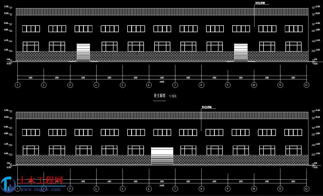 跨度36米双跨双坡单层钢结构厂房全套毕业设计
