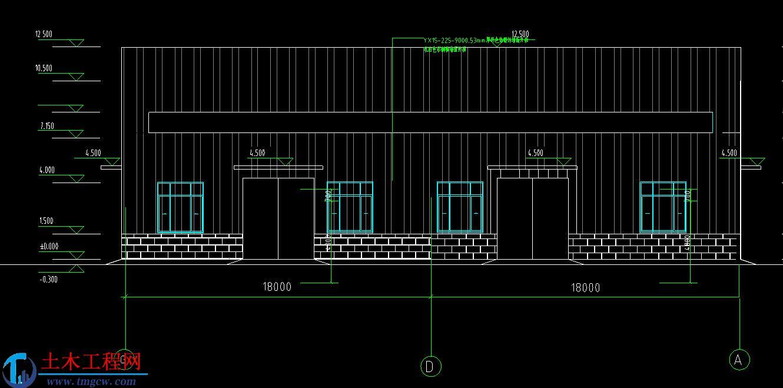 某单层门式刚架轻型结构毕业设计