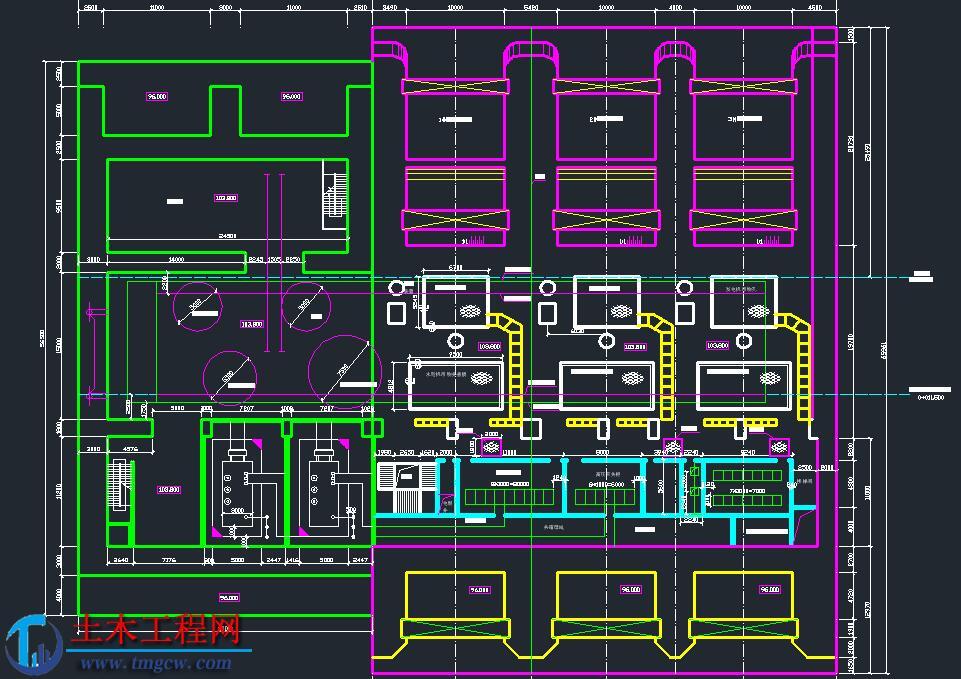 某流式水电站厂房毕业设计