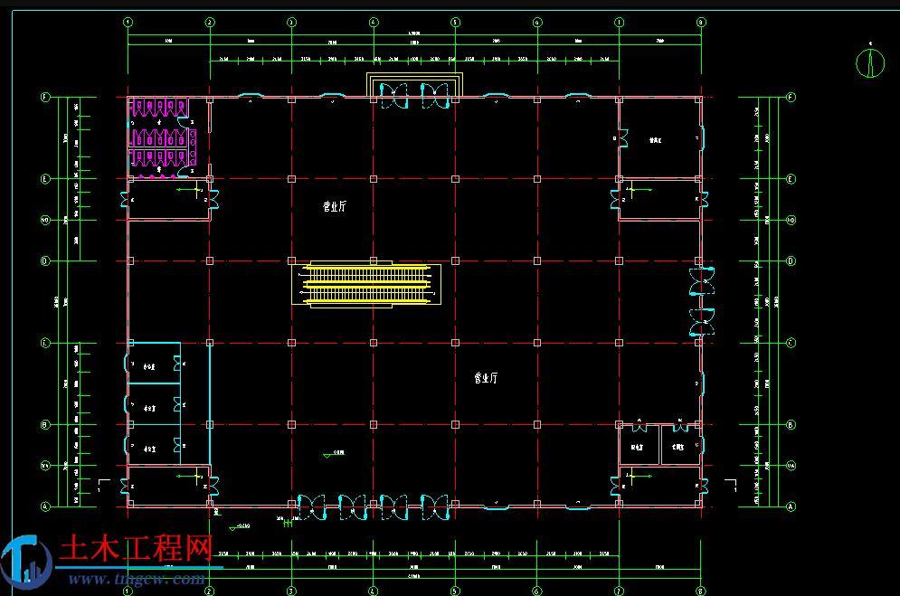 3层5145平米框架结构商场毕业设计全套