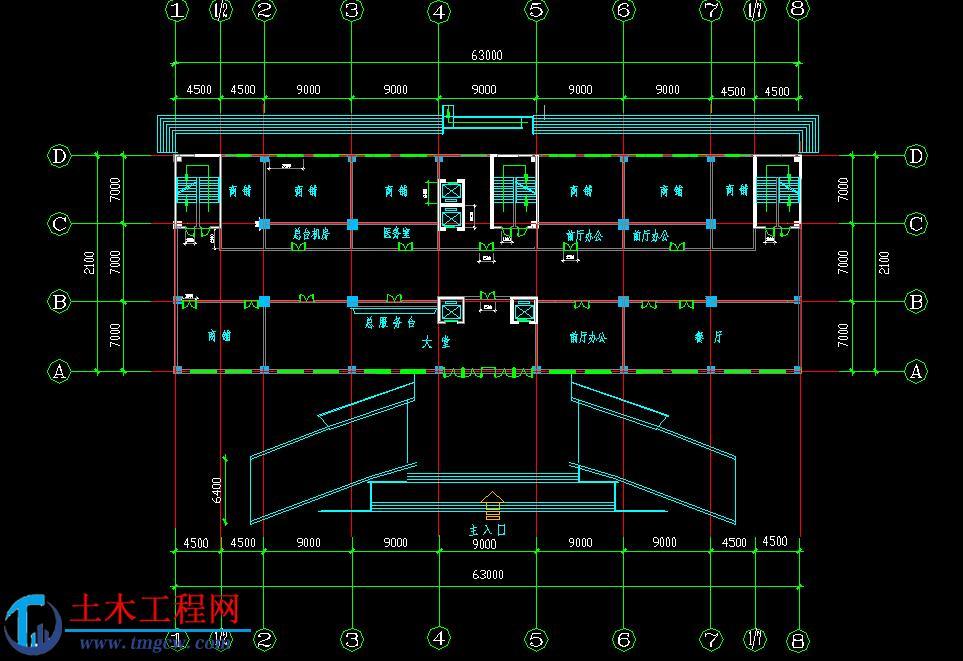 12层15870平米哈尔滨框架剪力墙结构毕业设计