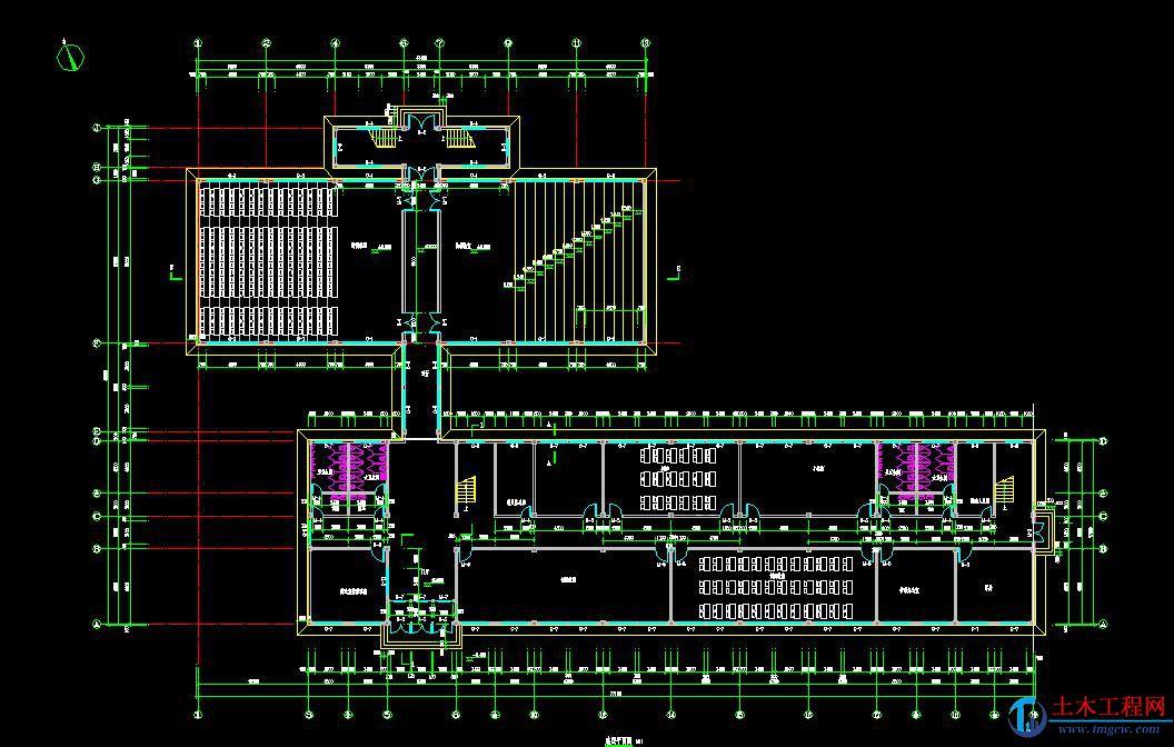4层6745平米郑州市框架教学楼毕业设计含毕业答辩PPT