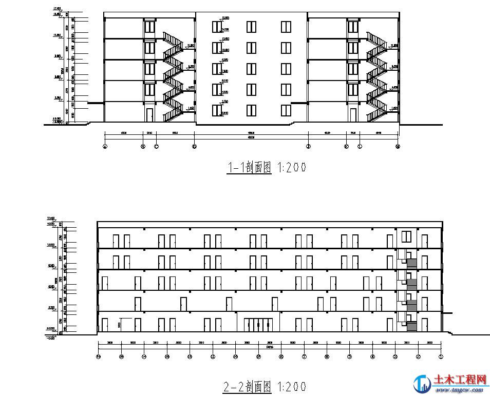5层10000平米郑州市某通信公司办公楼毕业设计