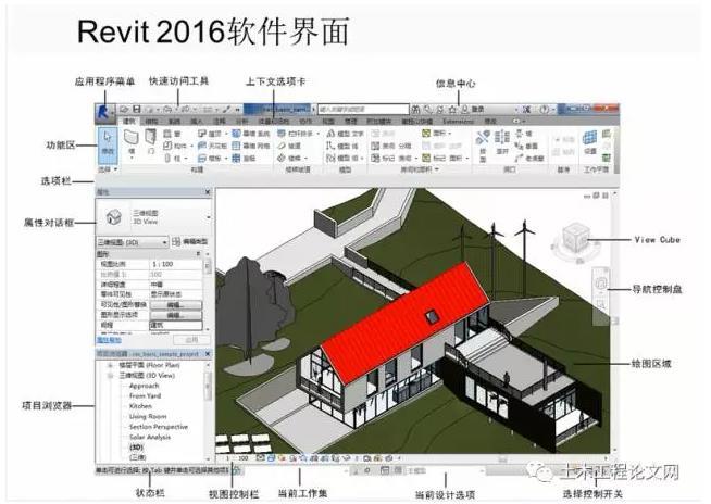 BIM经典教程之Revit 2016高清视频教程