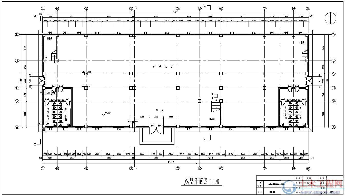6层6474平米河南郑州某银行综合办公楼毕业设计