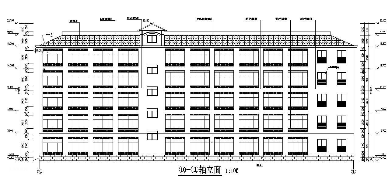 四川宜宾某5层高级职业中学教学楼施工组织设计