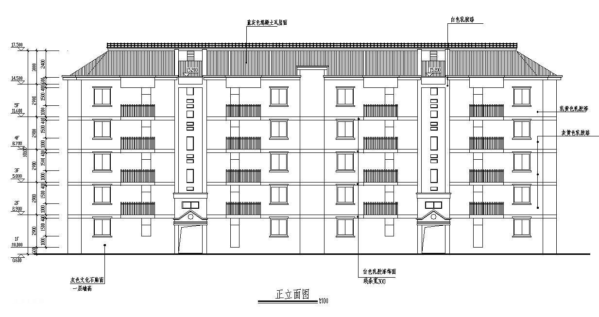 四川攀枝花某5层砖混结构住宅楼施工组织设计