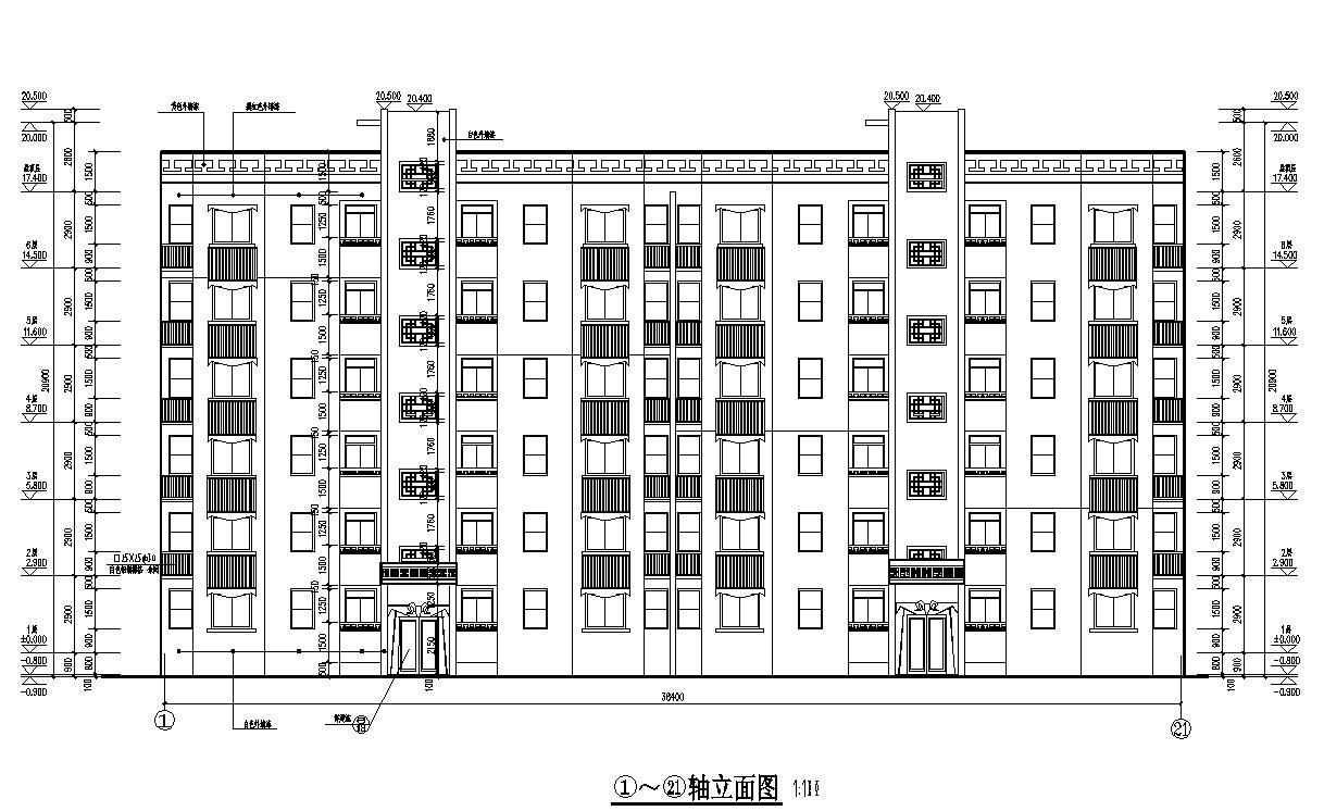 四川西昌印象春城小区住宅楼施工组织设计