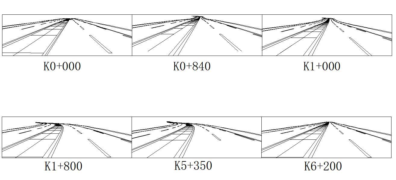 路基宽度28米高速公路总长7039.766米毕业设计