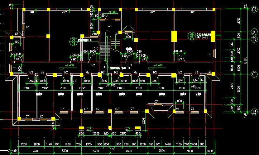 某5层框架结构办公楼施工组织设计免费下载