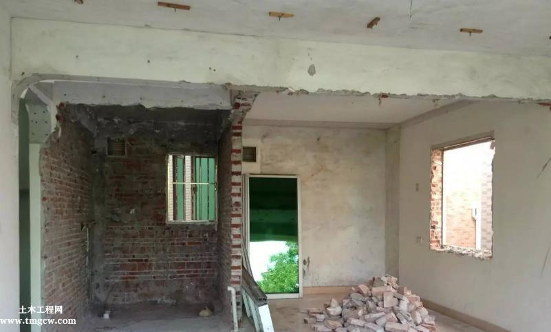 旧住房综合改造项目加固设计分析