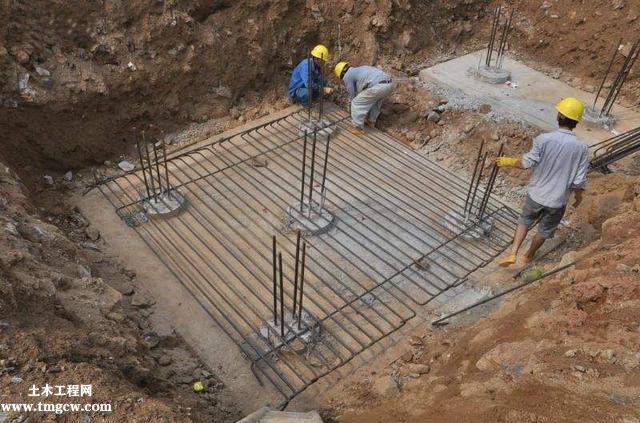 桩承台施工的工艺流程、基坑开挖、钢筋绑扎等技术问题
