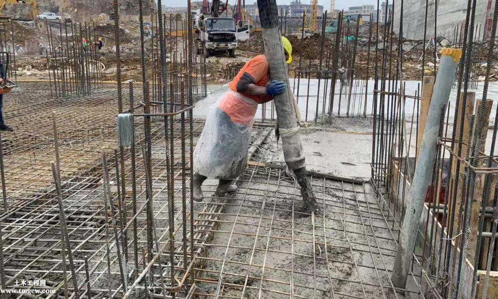混凝土梁、柱、板、剪力墙浇筑施工工艺标准