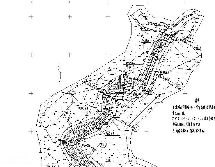 大塘港河道治理工程项目图纸共计36张附清单