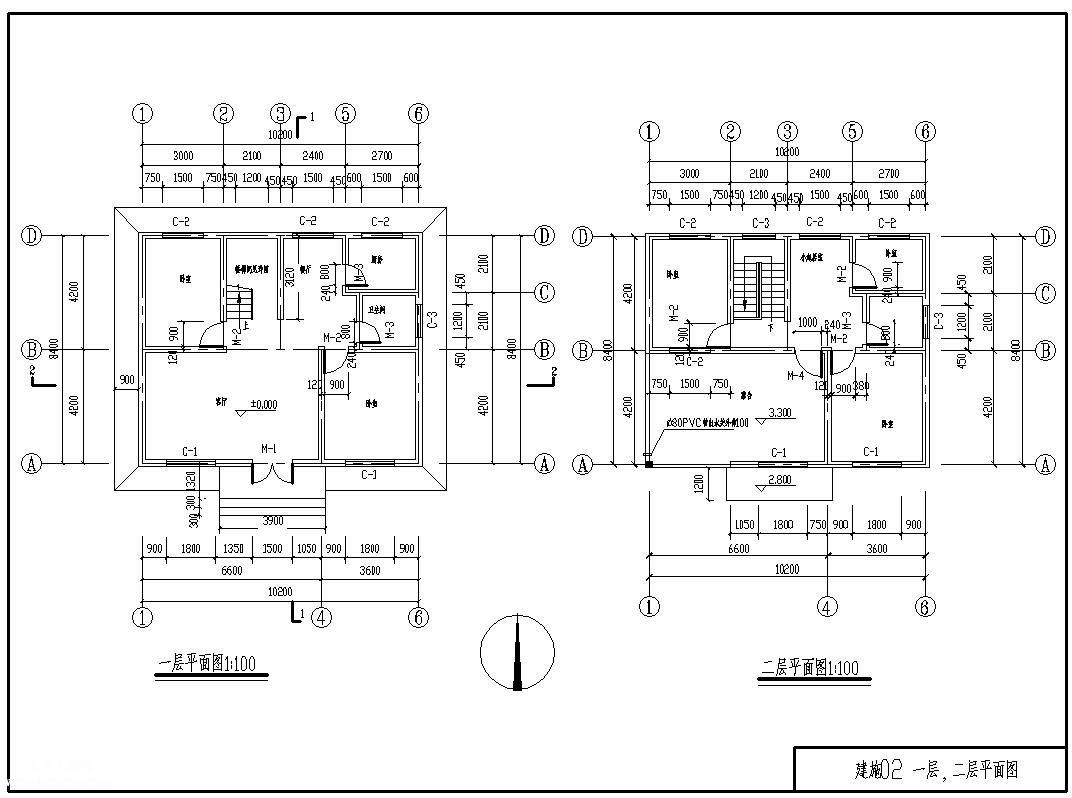 某2层152平米砖混住宅楼土建工程清单计价工程量手算