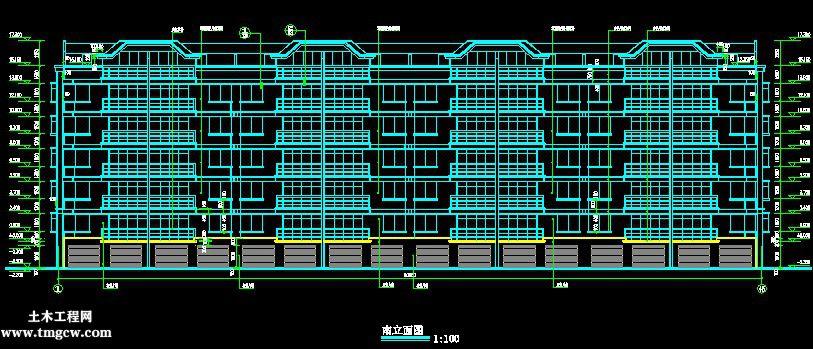 乳山某度假区五层住宅建筑结构施工图