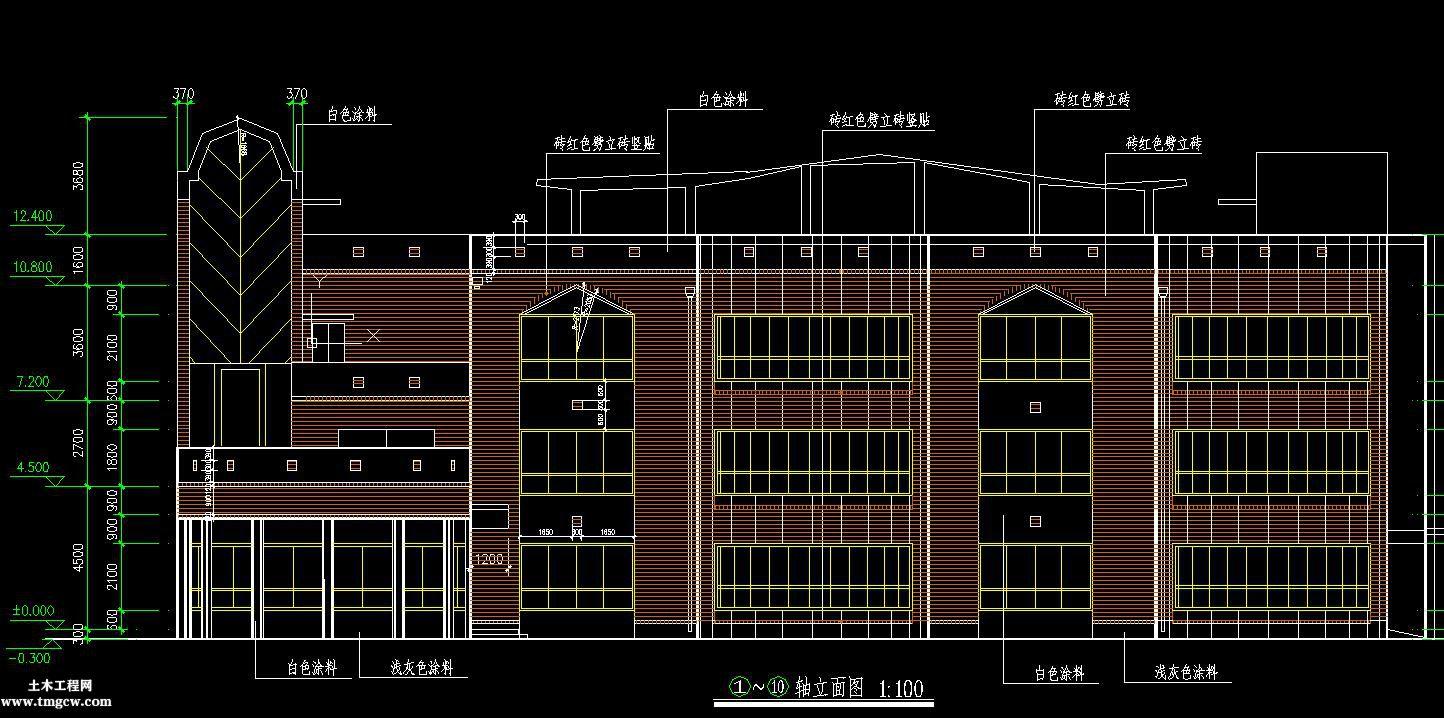 3层2252平框混幼儿园工程量计算含建筑结构图