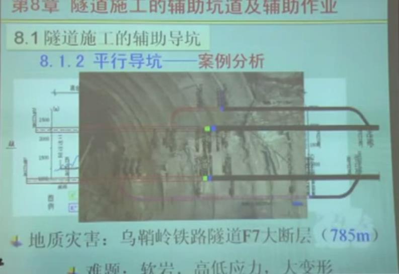 隧道工程教学讲解视频34集全4.86G